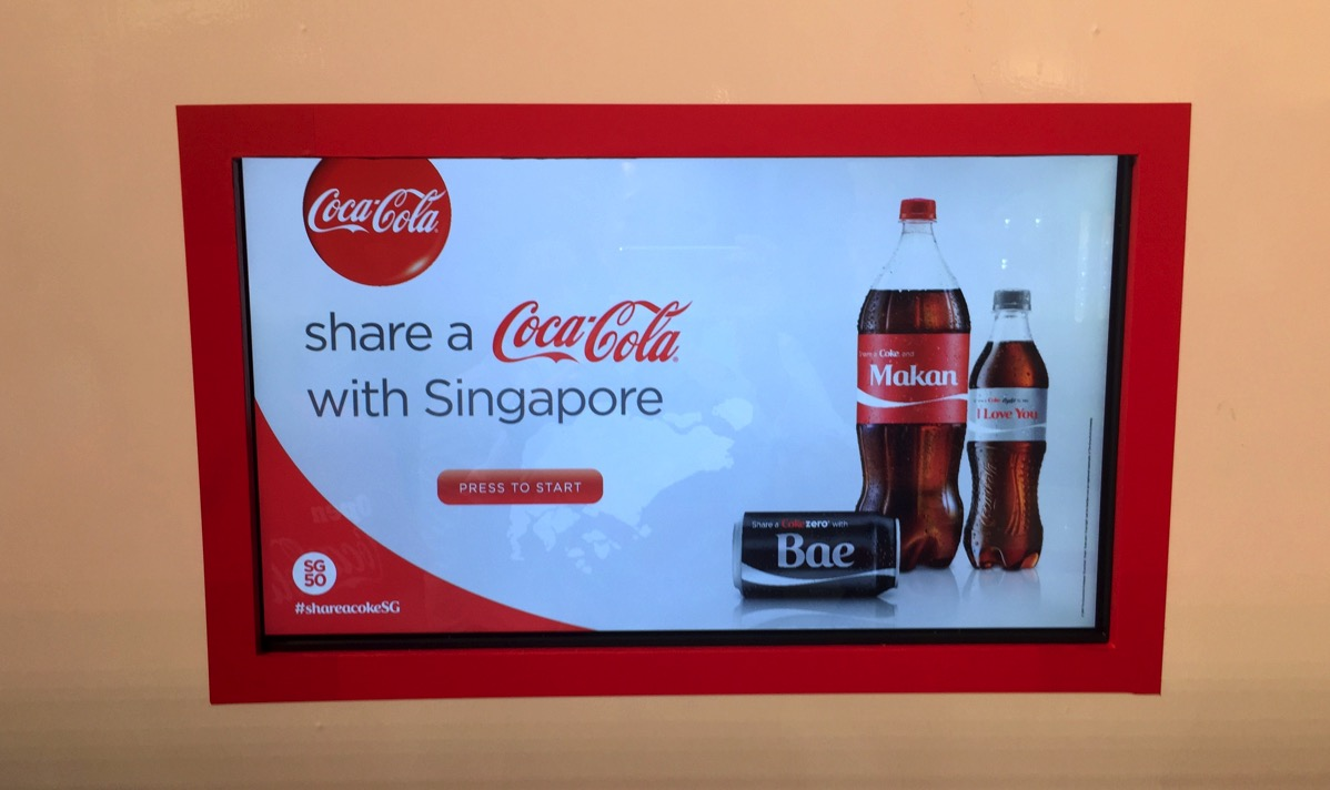 Share A Coca Cola - Getting started