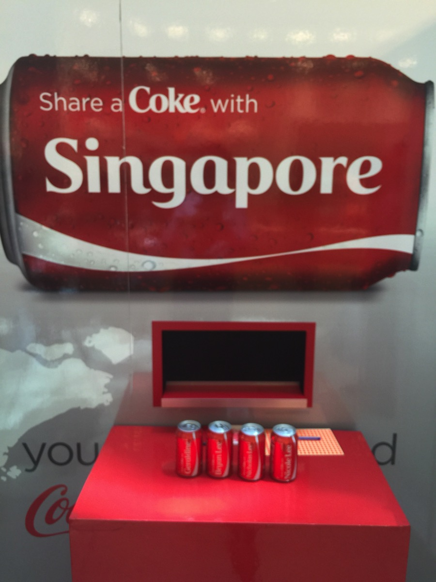 Share A Coca Cola - Printed Cans
