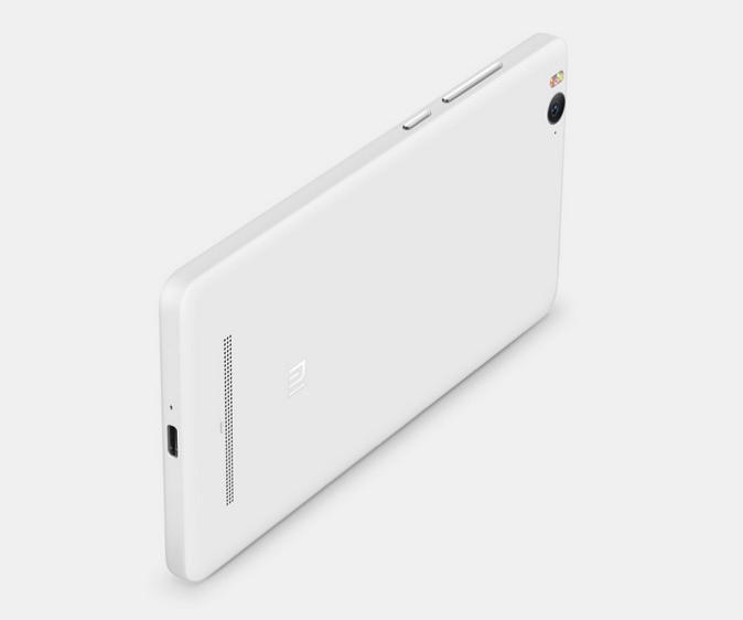Xiaomi Mi 4i - back view