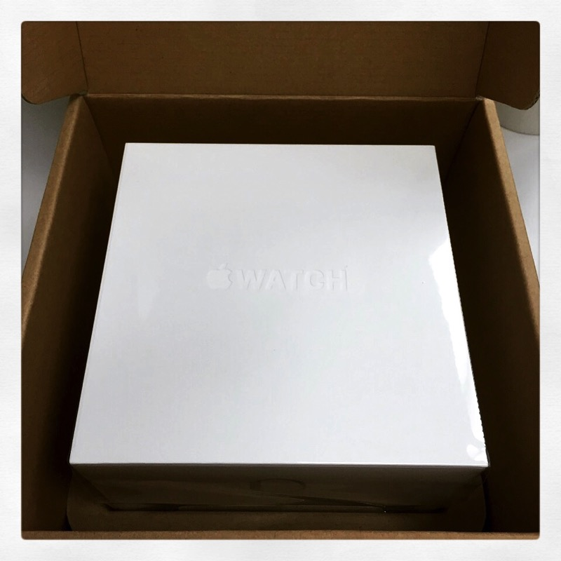 apple watch - mailing parcel