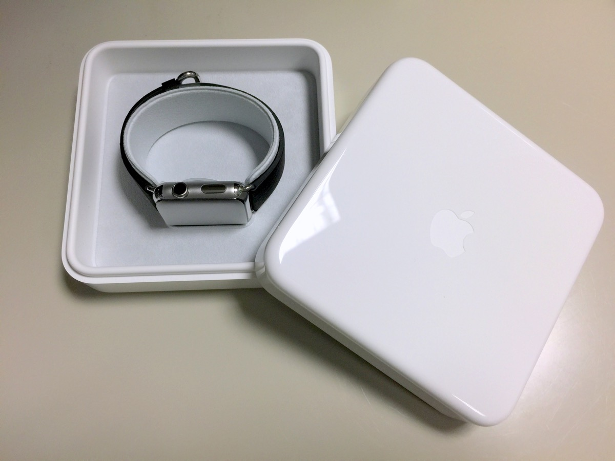 apple watch - unboxing 2