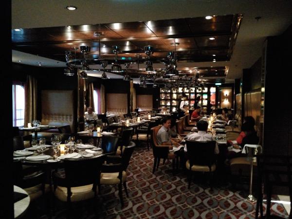 Chops Grille - Inside the restaurant