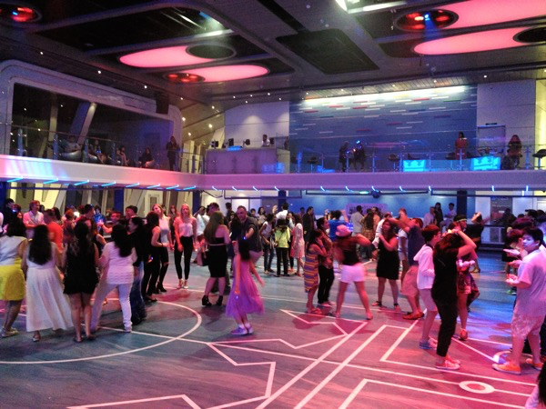 Disco at Sea Plex