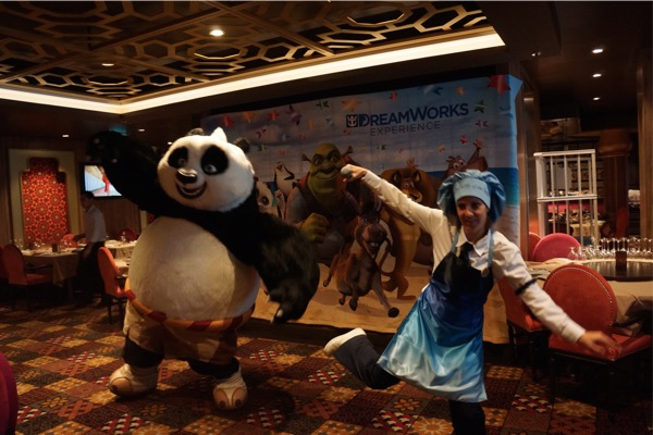 Dreamworks Breakfast - Kung Fu Panda