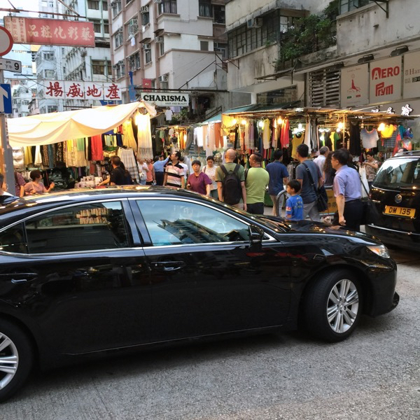 Hong Kong Hello Kitty Restaurant - Walk through Ladies Street