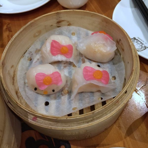 Hong Kong Hello Kitty Restaurant - 虾饺