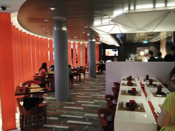 Izumi - Inside the restaurant