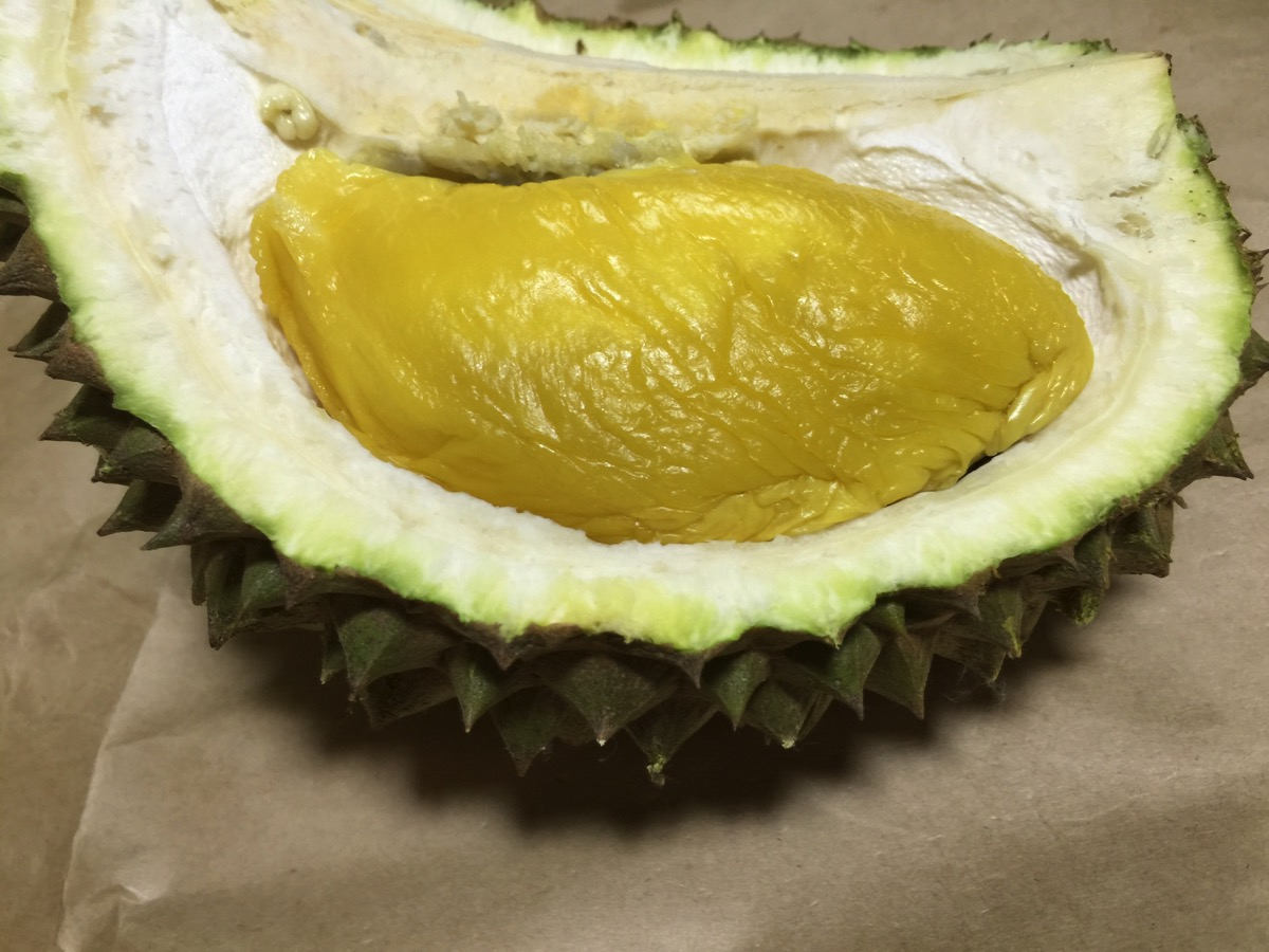 Maoshang Wang Durian - Inside fruit view - Meat