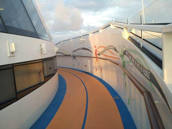Quantum of the Seas - Jogging Track
