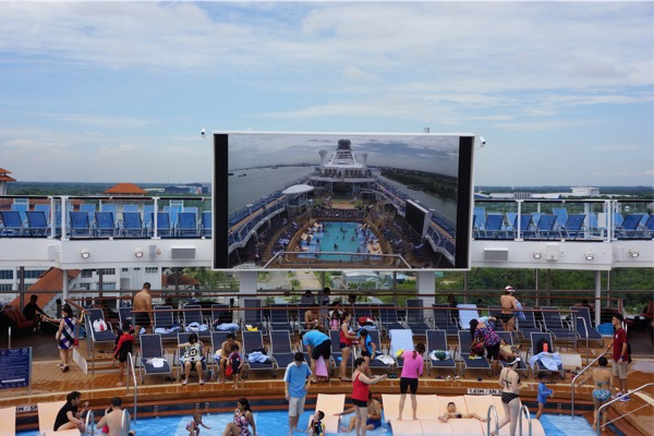 Quantum of the Seas - Pool Deck