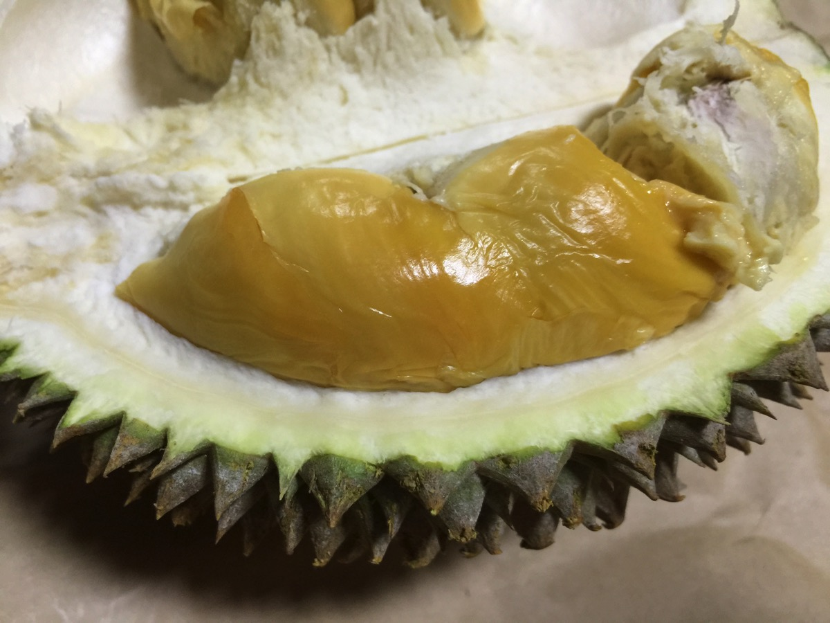 Red Meat Durian - Inside fruit - Meat