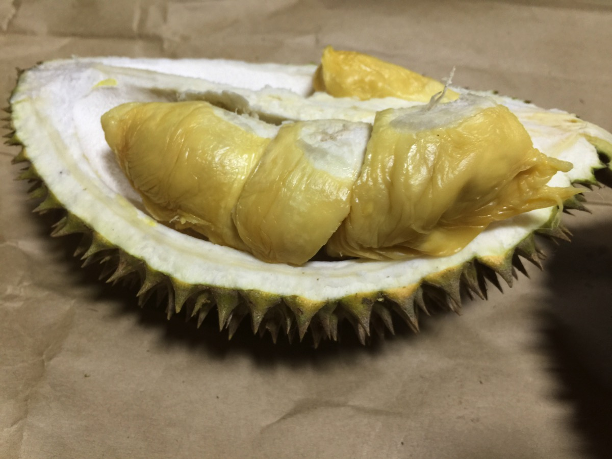 Small Seed Durian - Inside fruit - Meat