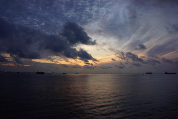 Sunrise onboard