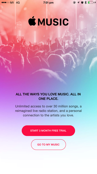Apple Music - 3 Months Trial