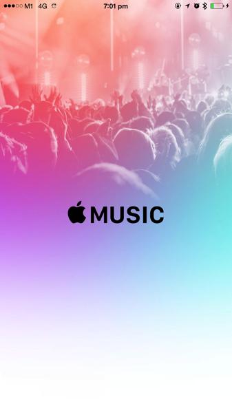 Apple Music - Start