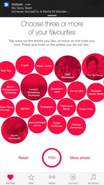 Apple Music - target by singer