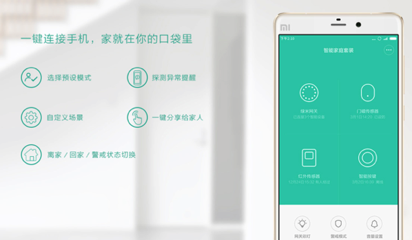 Mi Smart Home Kit 小米智能家庭套装 - Overview of Automation App