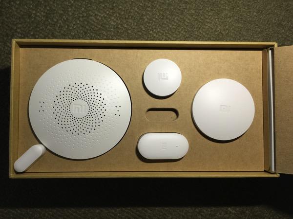 Mi Smart Home Kit 小米智能家庭套装 - unbox