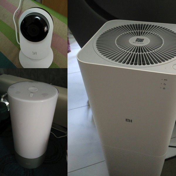 Mi Smart Home Kit 小米智能家庭套装 - Devices at home