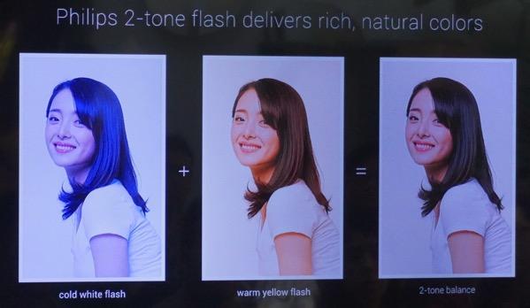 MiNote launch experiential event 2015 - 2 tones flash illustration