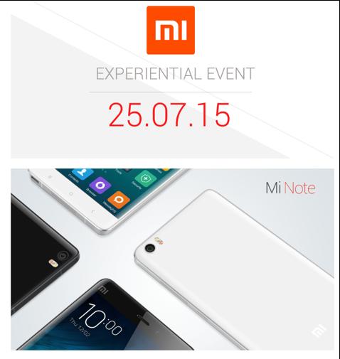 MiNote launch experiential event 2015 - Mi Singapore Experiential Event invite