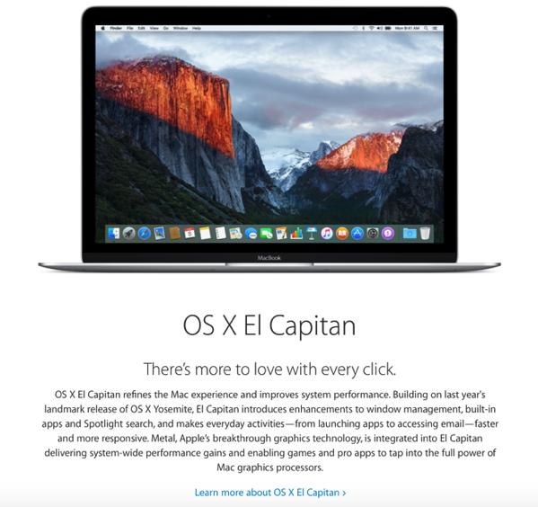 OS X El Capitan -  beta program