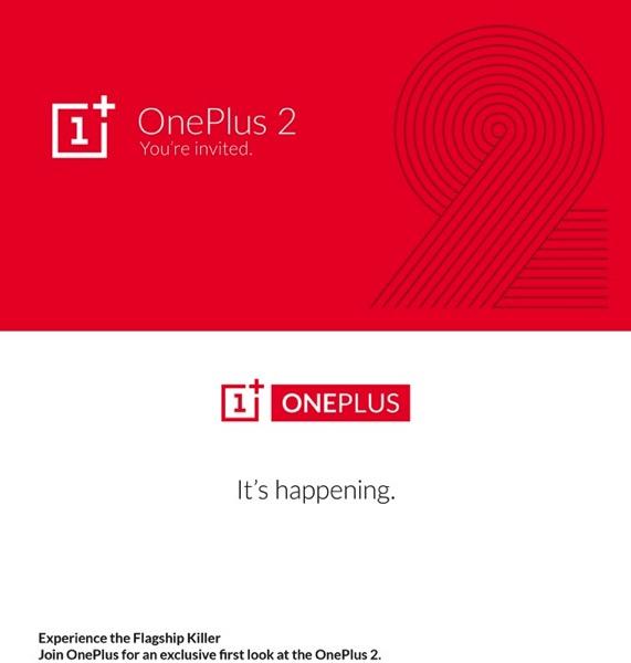 OnePlus Two - Media invitation