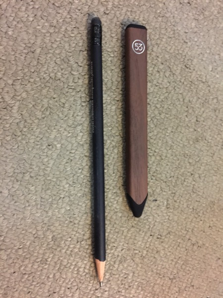 Pencil by FiftyThree - Pencil vs traditional pencil