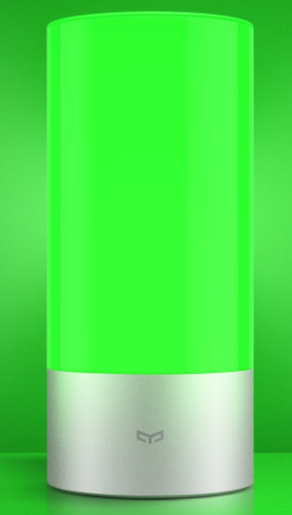 Yeelight Lamp  Green light