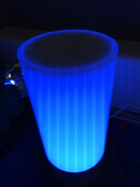Yeelight bedside lamp - blue light