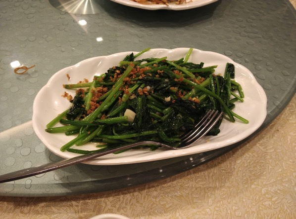 Jing Long Seafood Restaurant - Spinach with Garlic