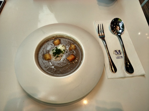 Lady M Confections (New York) - Mushroom Soup