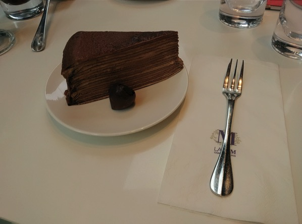 Lady M Confections (New York) - Signature Chocholate Mille Crepe