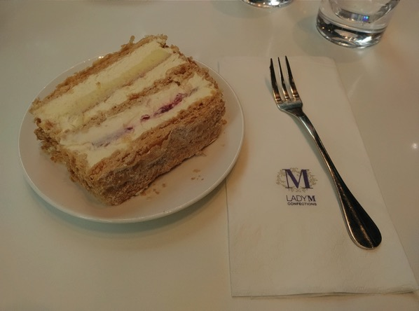 Lady M Confections (New York) - Strawberry Mille Feuille