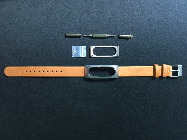Mi Band Leather Strap - full set