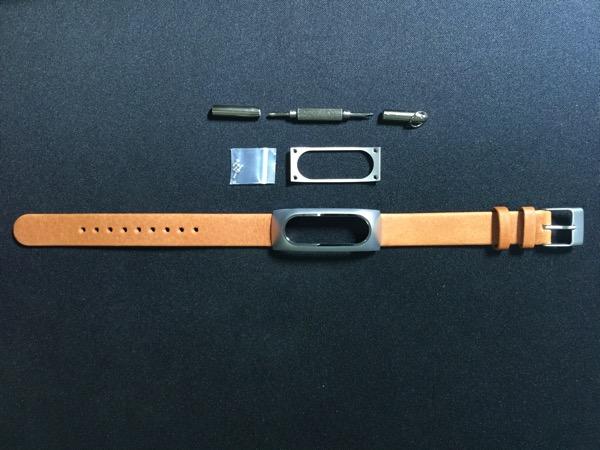 Mi Band Leather Strap - full set