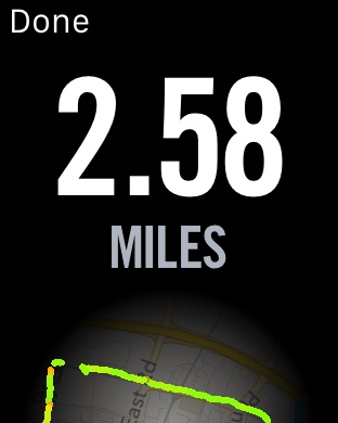 Nike+ - Run Completed