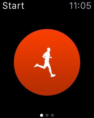 Nike+ - Start Run