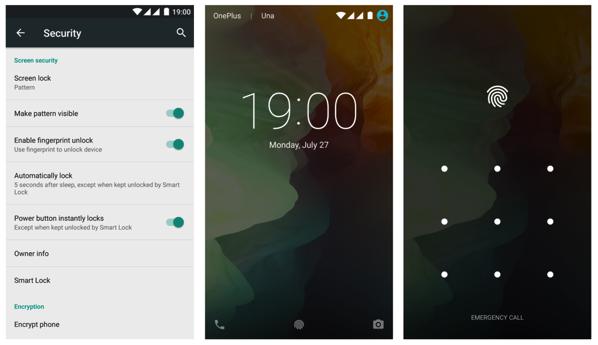 OnePlus Two Launch - Fingerprint setup