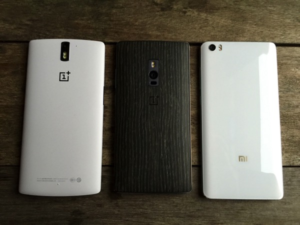 OnePlus Two Launch - compare (front)