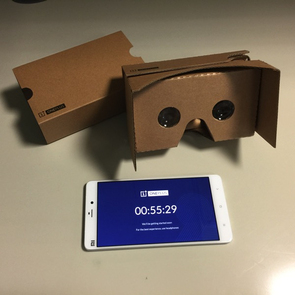 OnePlus Two - VR launch kits