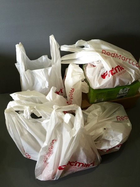 Redmart - Delivery packs