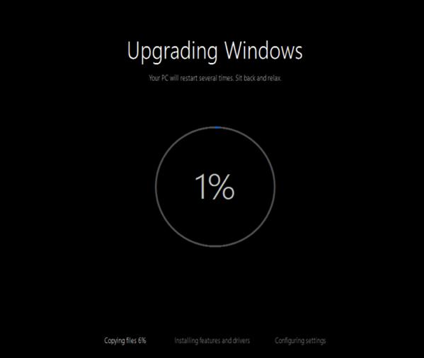 Upgrade to Windows 10 - Finalising