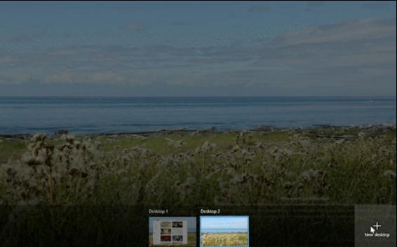 Windows 10 New Features - Add virtual desktop