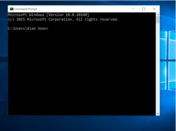 Windows 10 New Features - Command Prompt
