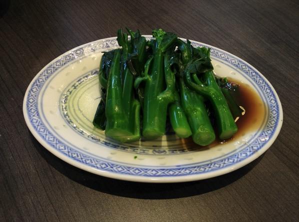 Mak Noodles - Kai Lan dish