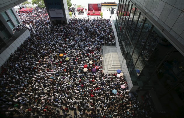 Singapore Elections 2015 - Lunch time rally