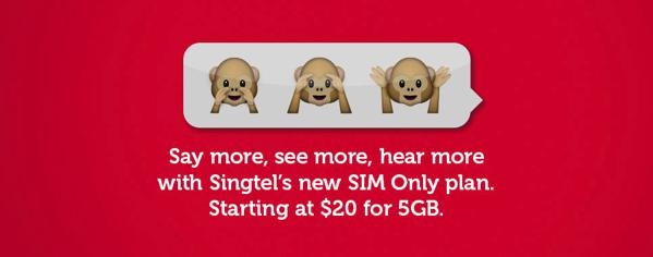 Singtel SIM only plan - main image