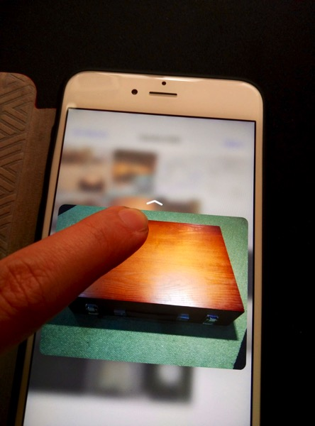 iPhone 6S Plus Gold - 3D touch - image preview