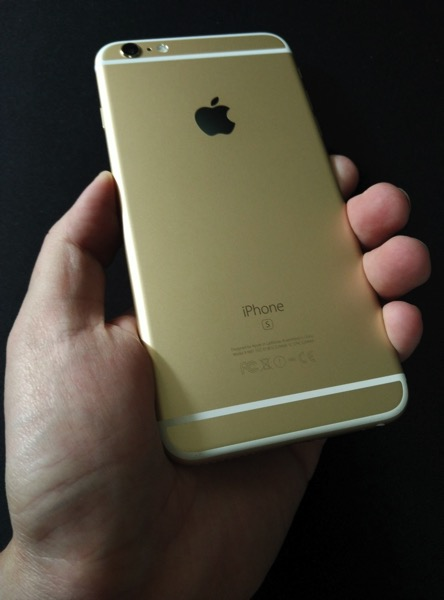 iPhone 6S Plus Gold - on hand